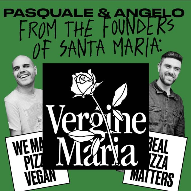 Angelo and Pasquale are the guys behind Santa Maria, and their new vegan brand @verginemariapizzaveganIt's still us behind the operations, working every day to make sure our pizza is the best we could.The vegan project has been always something on our mind, we were just waiting for the right moment.Veganuary 2021 it is the right moment.Support and follow our Vergine Maria #pizzavegan project!#pizzavegana #veganpizza #veganuary #veganfood #whatveganseat #londonsbestpizza