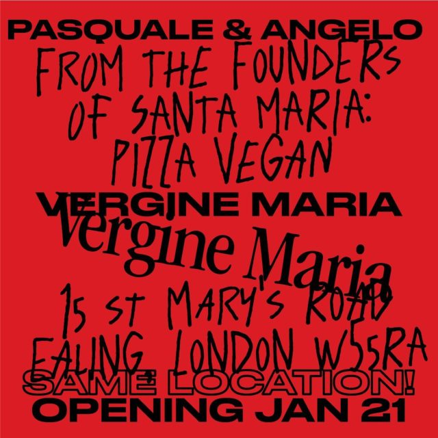 Don't forget to follow @verginemariapizzavegan Santa Maria's vegan spin off.21st january, it was an optimistic date, we have to deal with watch Mr.Boris wants and decide.In the meantime, stay tuned!