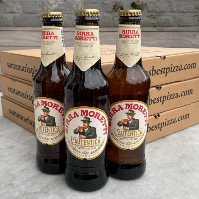If you are celebrating Dry January, scroll down, this post is not for you. Otherwise, with every order over £35, we will give you three Moretti beer for free, until stock lasts! Both collection and @deliveroo!